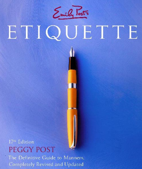 emily post guide to etiquette