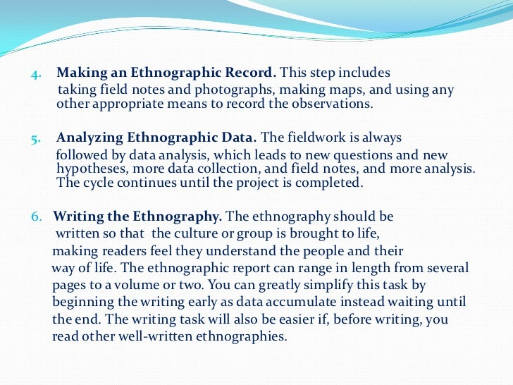 how to do ethnographic research a simplified guide