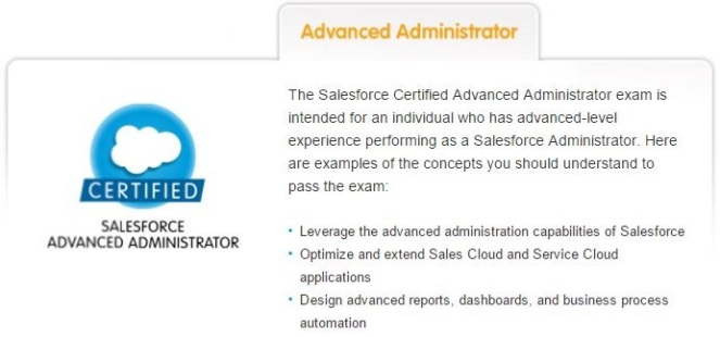 salesforce admin 201 certification study guide